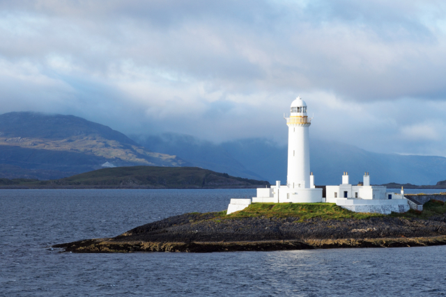 2015-09-06; Scotland; Inner Hebrides; Isle of Mull; Loch Linnhe; Lighthouse; Low light; Jan Ciglbauer Photo