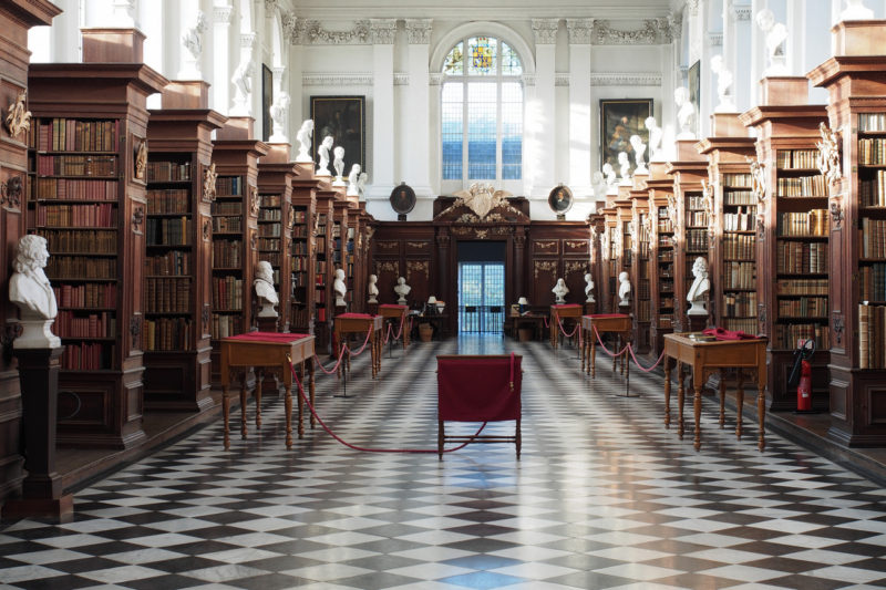 Cambridge, Trinity College Library